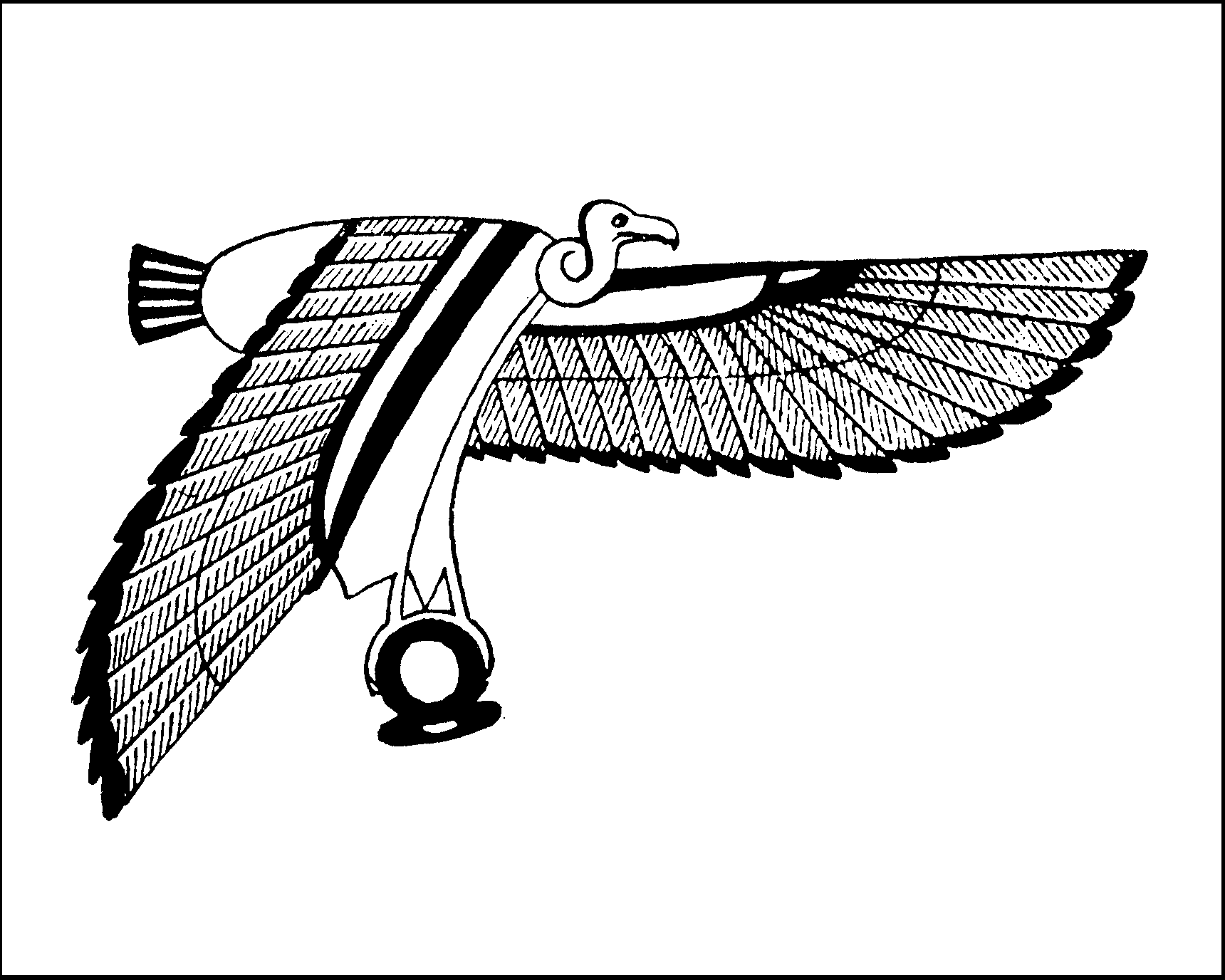 Maat mandala usually nekhbet grasps the shen symbol for eternity but id already expressed eternity how fortunate that the hieroglyph for neheh eternity of biocorpaavc Gallery