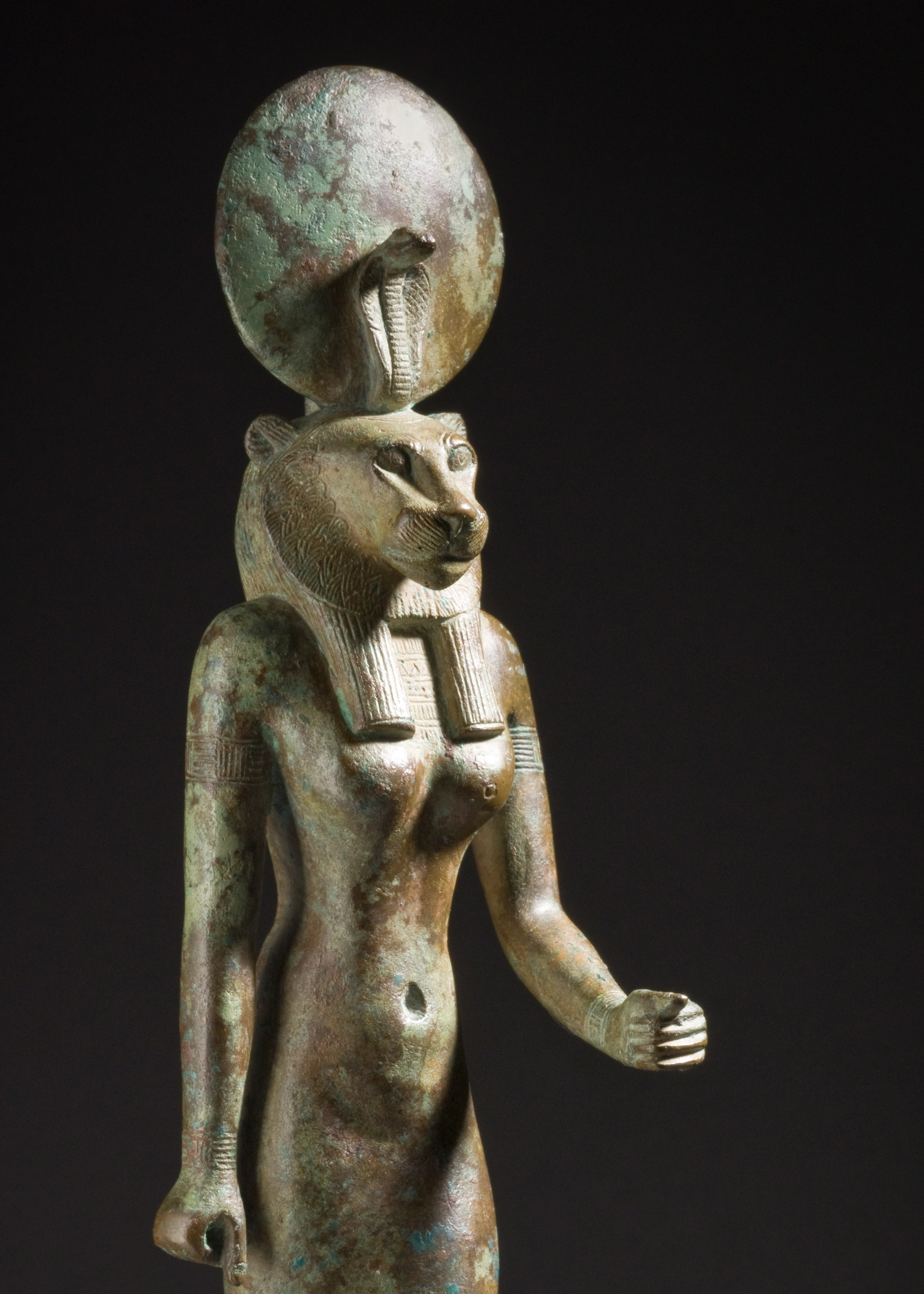 an analysis of wadjet an egyptian sculpture Figurine of the goddess wadjet, unknown, egypt, 26th dynasty, circa 664-525 bce, sculpture  one of several egyptian goddesses depicted with the head of a.