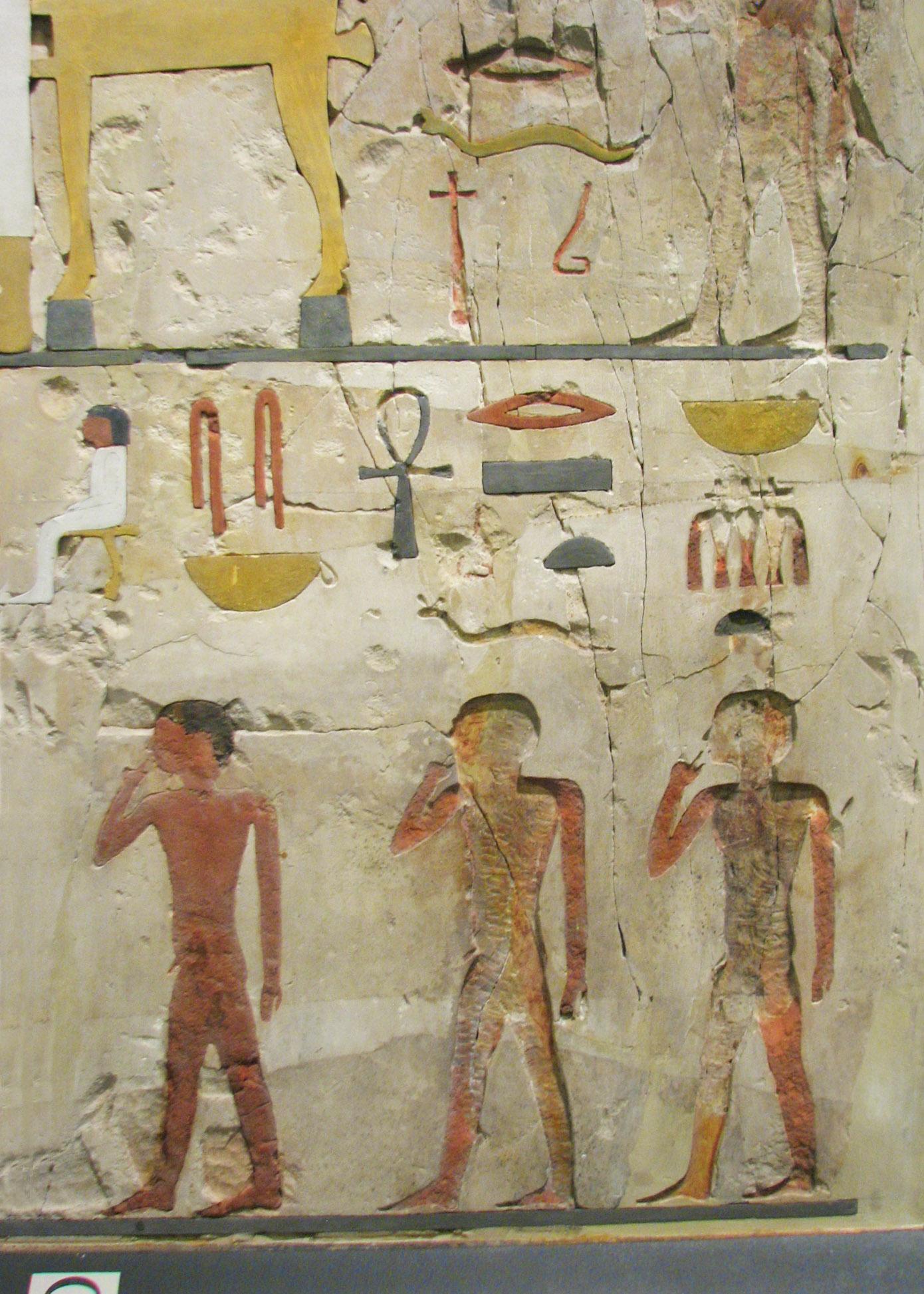 Les peintures murales de l gypte antique ne sont pas de for Peintures murales