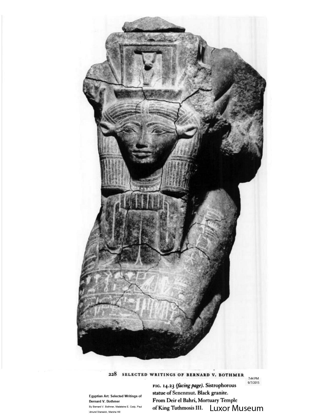 statue of hatshepsut seated essay example